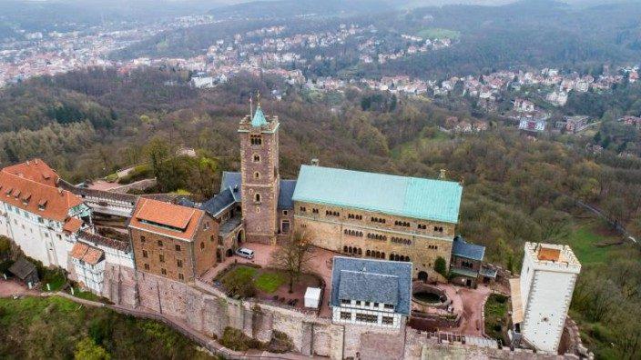 Wartburg ueber Eisenach